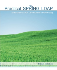 Spring LDAP Book on Amazon